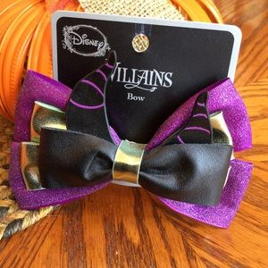 Maleficent Cosplay Hair Bow
